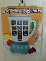 Details About Word Blends Beginning Ending Blends Educational Poster Classroom Wall Chart