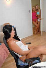 Naked Lesbians Super Hot Brunette Alexa Is Caught Masterbating In Her Room Then Gets