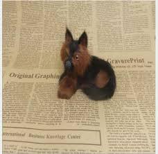 <b>WYZHY simulation</b> animal wolf dog plush toy creative <b>pet model</b> ...