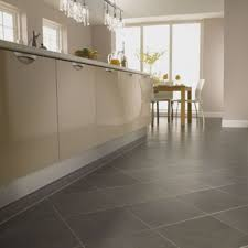 Kitchens With Gray Floors Kitchen Floor Tile On Island With End Table Black Island Table