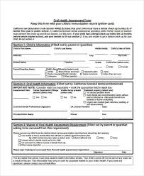 Health Assessment Form - Koto.npand.co