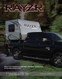 Rayzr Lightweight Truck Camper Floor Plans - Travel Lite RV Travel ...