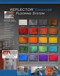 Ppg Megaseal Color Chart Epoxy Flooring Color Epoxy Flooring
