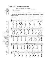 Double Bass Finger Chart Pdf 46 Experienced Clarinet Key Chart