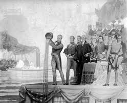 Image result for 1825 Erie Canal opens