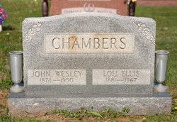 John Wesley Chambers (1874-1950) - Find A Grave Memorial