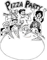 pizza party clipart black and white. Simple Black Pizza Clipart Black And White Clipart Bathroom Kid  Bath2406186 Throughout Party White Z
