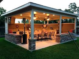 outdoor covered area seating ideas kitchen plans