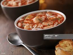 Seafood Soup High-Res Stock Photo ...