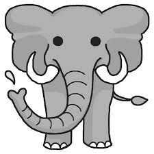 ゾウのイラスト画像象まとめ Naver まとめ