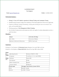 Inspiration Resume Format Word Document Download In Normal Resume