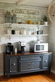 coffee bar furniture home. Caught In Grace Open Shelves Coffee Bar Buffet Our Home With Regard To Fine Interior Design Ideas Furniture R