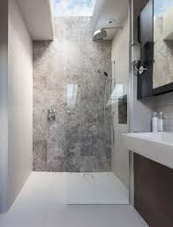 walk in shower lighting. Peek Architecture + Design - Walk In Shower, Stone Feature Wall, Silver Emperador Tiles, Roof Lights, Bathroom Joinery Shower Lighting I