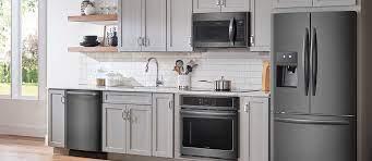 Kitchen Design Ideas For Black Stainless Steel Appliances