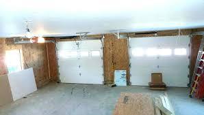 installing a garage door opener with low ceiling best for ceil low headroom garage door opener clearance