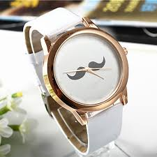 online buy whole nice watch brands for men from nice 2016 brand new fashion beard dial watch high quality leather straps watches men women dress