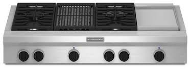 gas cooktop with grill. Fine Cooktop KGCU484VSS KitchenAid 48 And Gas Cooktop With Grill