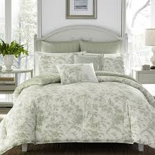 natalie 100 cotton comforter set by laura ashley home