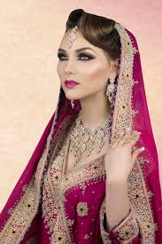 bridal hair makeup trial image