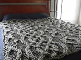 Cable Knit Blanket Pattern Awesome Ideas