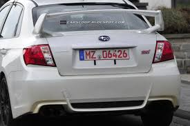 SPIED: 2011 Subaru Impreza WRX STI Spec C Sedan Scooped at the 'Ring