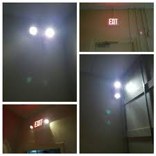 emergency lighting and exit sign lighting