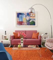 Retro Living Room Decor Unique Orange Living Room Ideas For Sweet Home Gallery Gallery