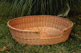 wicker dog bed. Modren Bed Image 0 With Wicker Dog Bed E