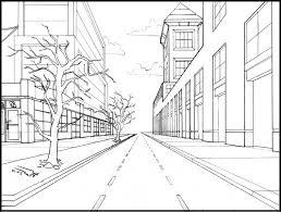 perspective drawings of buildings. Drawing Of One Point Perspective Easy \u2013 Art Gallery Drawings Buildings O