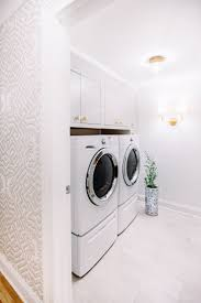 best lighting for laundry room. delicate glam white laundry room design by pencil u0026 paper co schoolhouse electric hardware cole and sons wallpaper circa lighting best for i