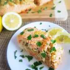 Easy Crab Stuffed Salmon Recipe with ...