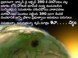 climate change in telugu