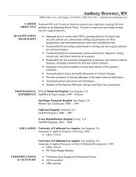 Resume Examples For Rn New Resume Sample Perfect Registered Nurse Resume Example Sample