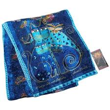 silk scarf laurel indigo cats silk scarf silk scarf painting supplies