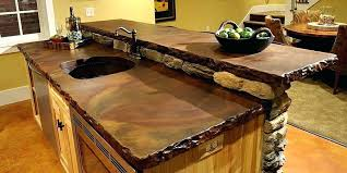 cleaning concrete unsealed countertops modern white kitchen wi