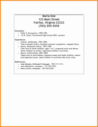 Resume References Format Reference Resume Template References In