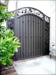 metal fence gate instatco
