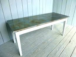 zinc top coffee table zinc top dining table zinc top table zinc topped outdoor dining tables zinc top coffee table