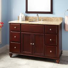 bathroom cabinets and sinks. Gorgeous 48 Dallan Vanity For Undermount Sink Mahogany Bathroom In Cabinets And Sinks O