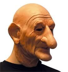 Long Nose Long Nose Old Man Mask Amazon Co Uk Clothing