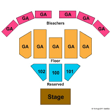 Seneca Allegany Casino Events Center Seating Chart Seneca Allegany Events Center At Seneca Allegany Resort