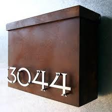 custom wall mount mailbox. Interesting Mount On Custom Wall Mount Mailbox I