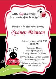 Color  Free Printable Baby Shower Invitations For BoysFree Printable Ladybug Baby Shower Invitations
