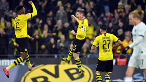 Borussia dortmund, the city's bundesliga (premier league) team, has won the national championships an impressive eight times. Borussia Dortmund Back To Basics In Latest Bundesliga Spectacle Sports German Football And Major International Sports News Dw 14 02 2020