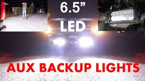 Led Auxiliary Backup Lights