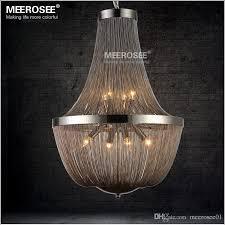 attractive chain chandelier lighting post modern french chain chandelier light fixture empire vintage