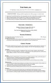 Best Nurse Resume New Graduate Nurse Resume Barraques Org
