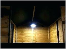 shed wall ideas lighting