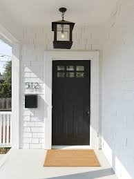 white interior front door. Black Front Door. White Exterior With Door Paint Color: Interior