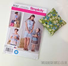 simplicity 8087 pattern thread head fabrics